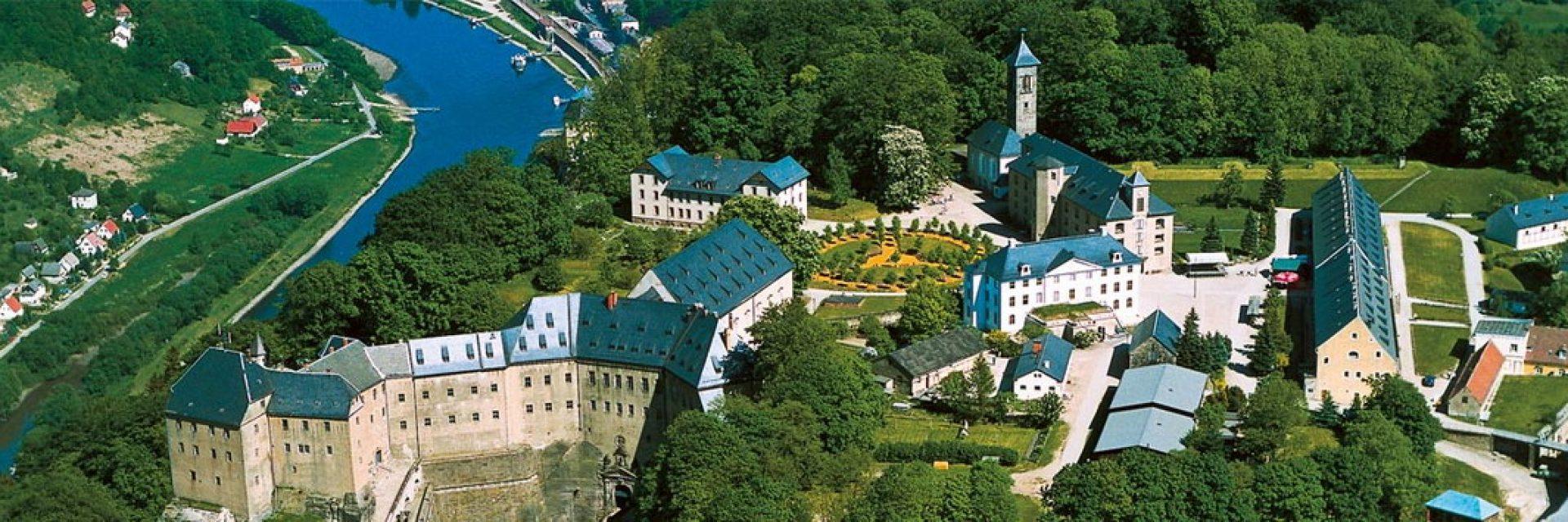 Luftaufnahme Festung Königstein