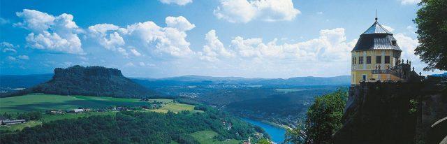 Sehenswürdigkeiten - Festung Königstein / Sächsische Schweiz